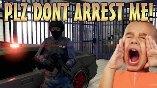 PLAY AS A COP MOD TROLLING ONLINE! (GTA 5 Mods) thumbnail