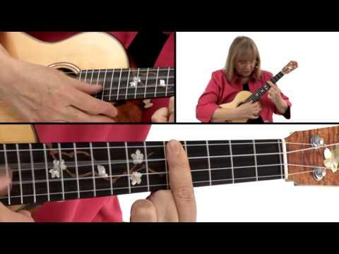 Ukulele Lesson - #8 F6: 2 Inversions - Marcy Marxer
