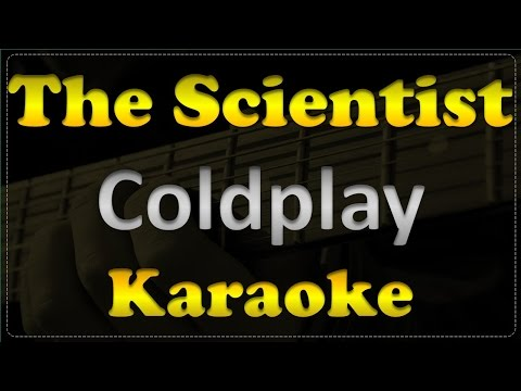 Coldplay - The Scientist - Acoustic Guitar Karaoke # 5