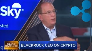BlackRock CEO. Bank Of America Patent Showing Ripple DLT.