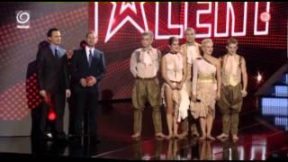 Credance - semifinále   Česko Slovensko má talent 2012