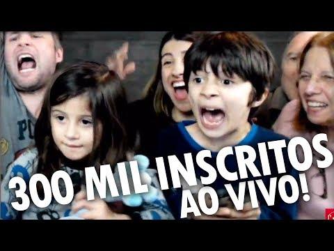 [AO VIVO] ESPECIAL DE 300 MIL INSCRITOS! - LIVE Ep.04