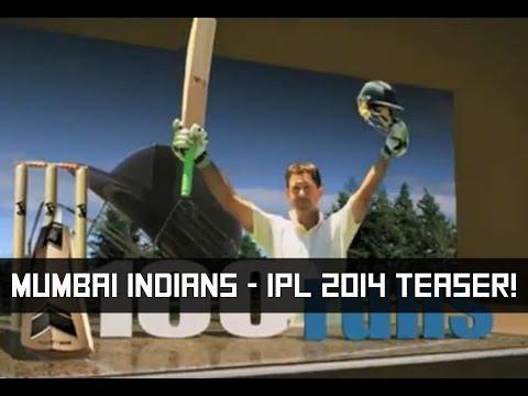 Mumbai Indians - IPL 2014 Teaser!