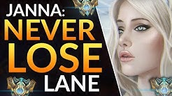 WIN EVERY LANE as SUPPORT - PRO JANNA LANING TIPS | LoL Challenger Gameplay Guide