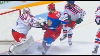 Россия - Чехия (2:4) 20.12.2015 - Обзор матча Хоккей 2015