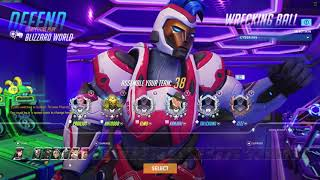 Overwatch Ft. Antoo And Elmo- Offtanking On Blizzard World With An Ashe One-trick