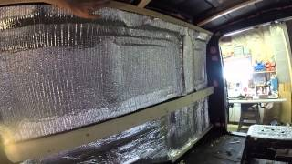 #VanLife - Building Custom Furring Strips in Van