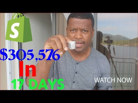 Shopify | 1 Product That Sold Over $305,576 In 17 Days