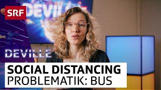 Martina Hügi im Bus | Deville