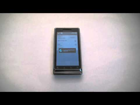 How To Bypass A Motorola Droid 2 Smartphone Activation Screen