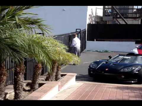 2008 Bugatti Veyron and 2008 Koenigsegg CCX