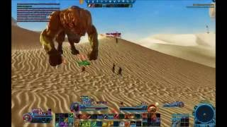 SWTOR PVP: Tatooine World boss\Republic Players