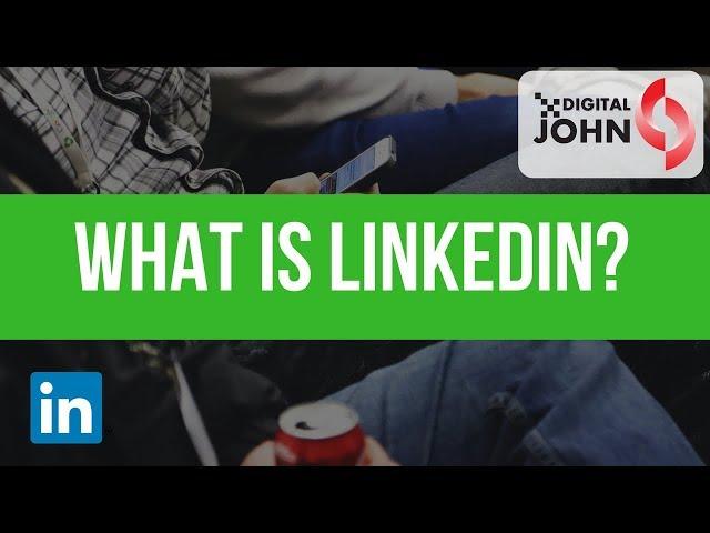 What is LinkedIn in Telugu? || Digital John
