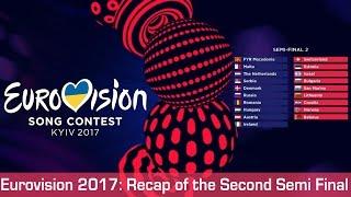 Eurovision 2017: Recap of the Second Semi Final