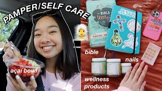 PAMPER/SELF CARE DAY ft. Truly Beauty | Nicole Laeno