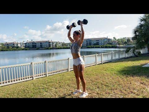 Yasmin's Outdoor Upper Body Routine
