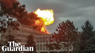 Explosion on roof of Lyon university in France