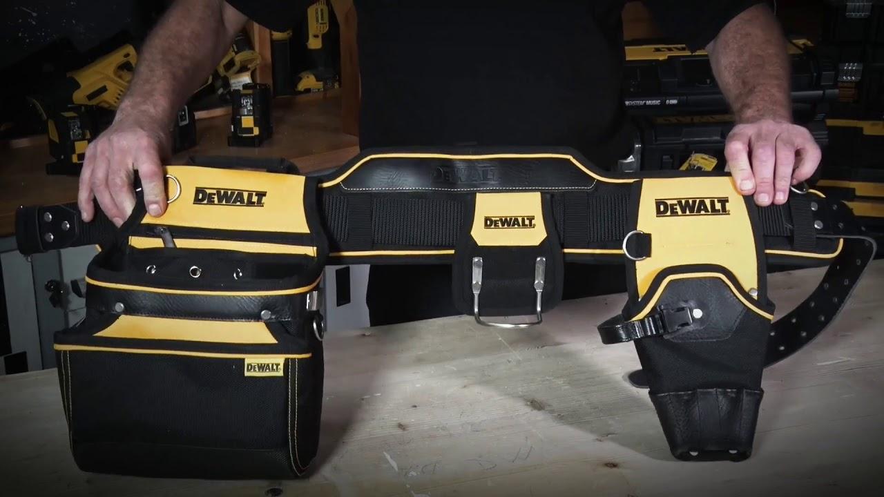 DeWalt DWST1-75552 Tool Rig Tool Belt Apron