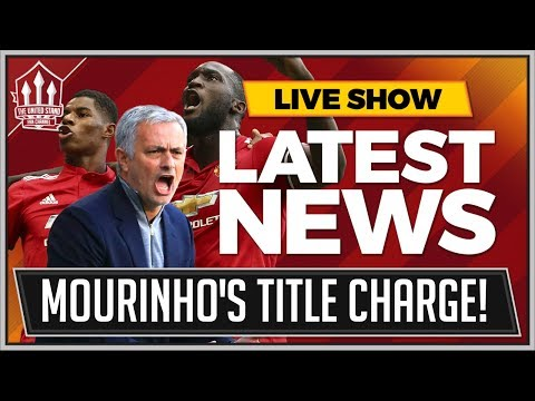 MOURINHO's Manchester United Title Charge! MAN UTD News