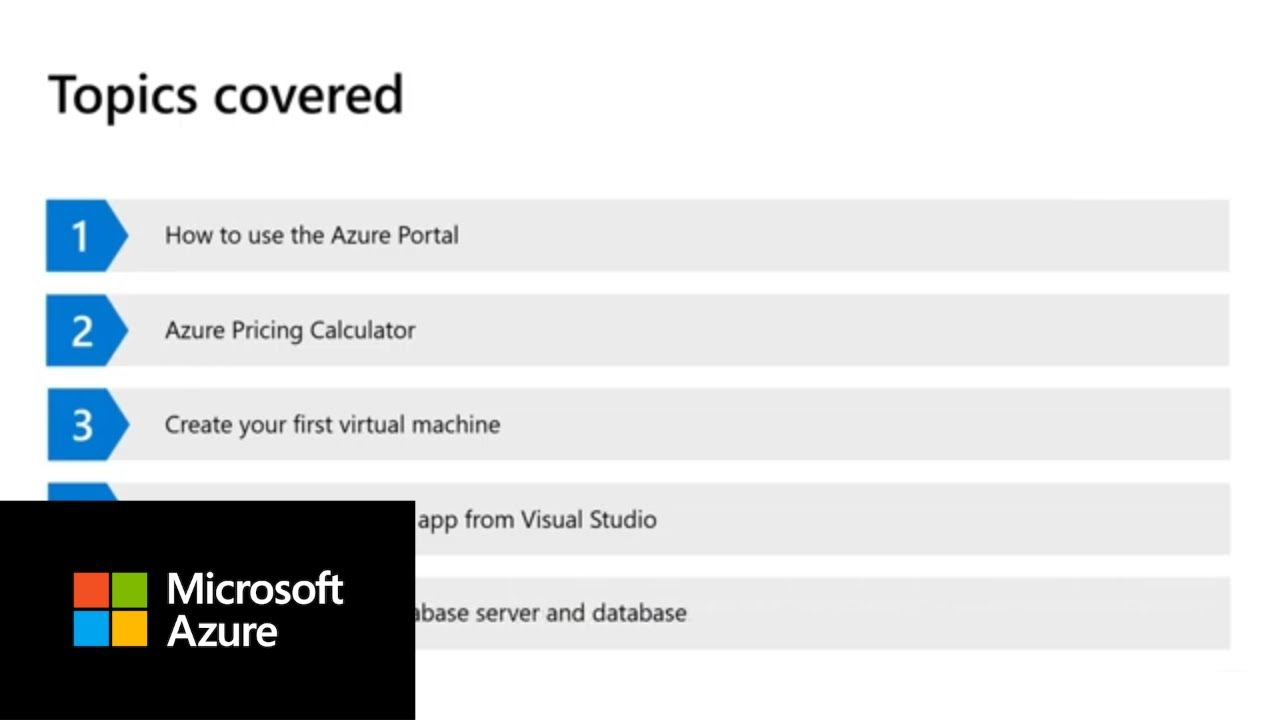 How to Get Started with Microsoft Azure | on-demand Demo Trailer