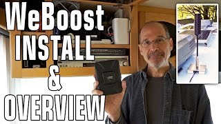 How to Install a WeBoost Drive 4G-X Cellular Booster & 4G-OTR Antenna