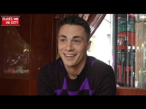 Colton Haynes Interview - answers questions from his fans