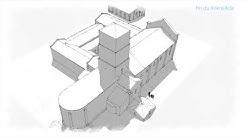 Evolution du prieuré de Sainte-Gemme, 17250