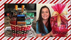 Wine gift basket on a budget  affordable any occasion /Christmas gift basket  Vlogmas day 7