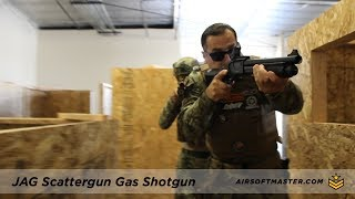 Jag Arms Scattergun Gas Shotgun Quick Review with CQB Russian