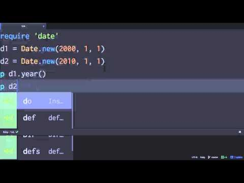 Python & Ruby - 클래스 맴버 1 : 소개