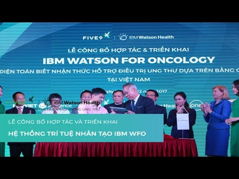 VTV1 - Lễ công bố hợp tác & triển khai công nghệ Điều Trị Ung Thư IBM Watson for Oncology