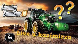 Farming Simulator 19 ja wygląda serwer po ponad 200h gry ? :D - Na żywo