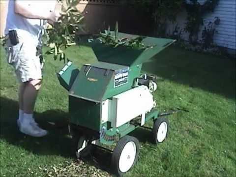 Roto Hoe Chipper Shredder.wmv - YouTube