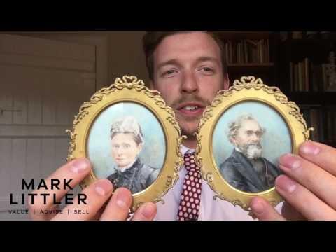 A Quick Look at Portrait Miniatures - Mark Littler