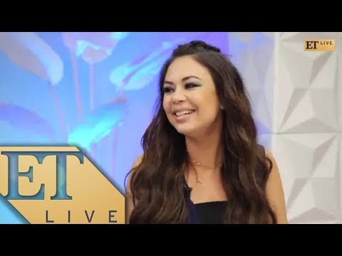 ET Live With Janel Parrish Chatting About The Most Shocking 'Pretty Little Liars' Yet!