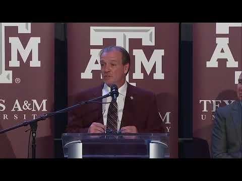 Jimbo Fisher introductory news conference as Texas A&M football coach | ESPN