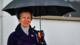 Princess Anne makes first public appearance since Prince Philip's death