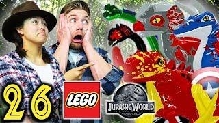 DINOSAUR AVENGERS - Part 26 - Let's Play LEGO Jurassic World