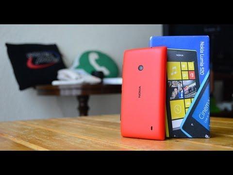 Nokia Lumia 520 - Unboxing en Español HD