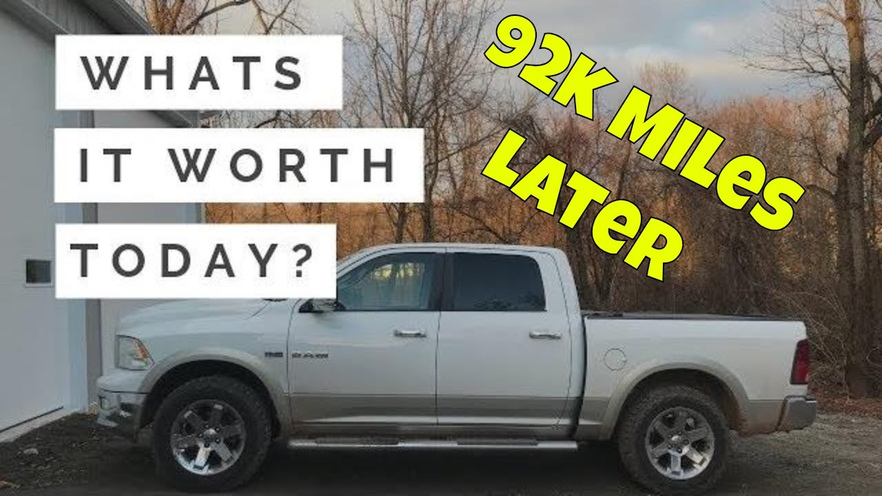 Truck Trade In Value >> 2010 Ram 1500 Trade In Value After 9 Years