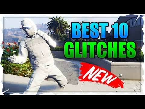 GTA 5 Online: BEST ''TOP 10 WORKING GLITCHES'' After Patch 1.48! (GTA 5 Top 10 Glitches)