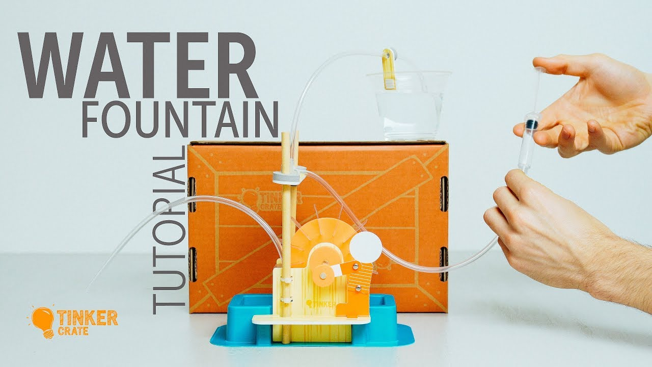 3f195a6cd Build a Water Fountain - Tinker Crate Project - YouTube