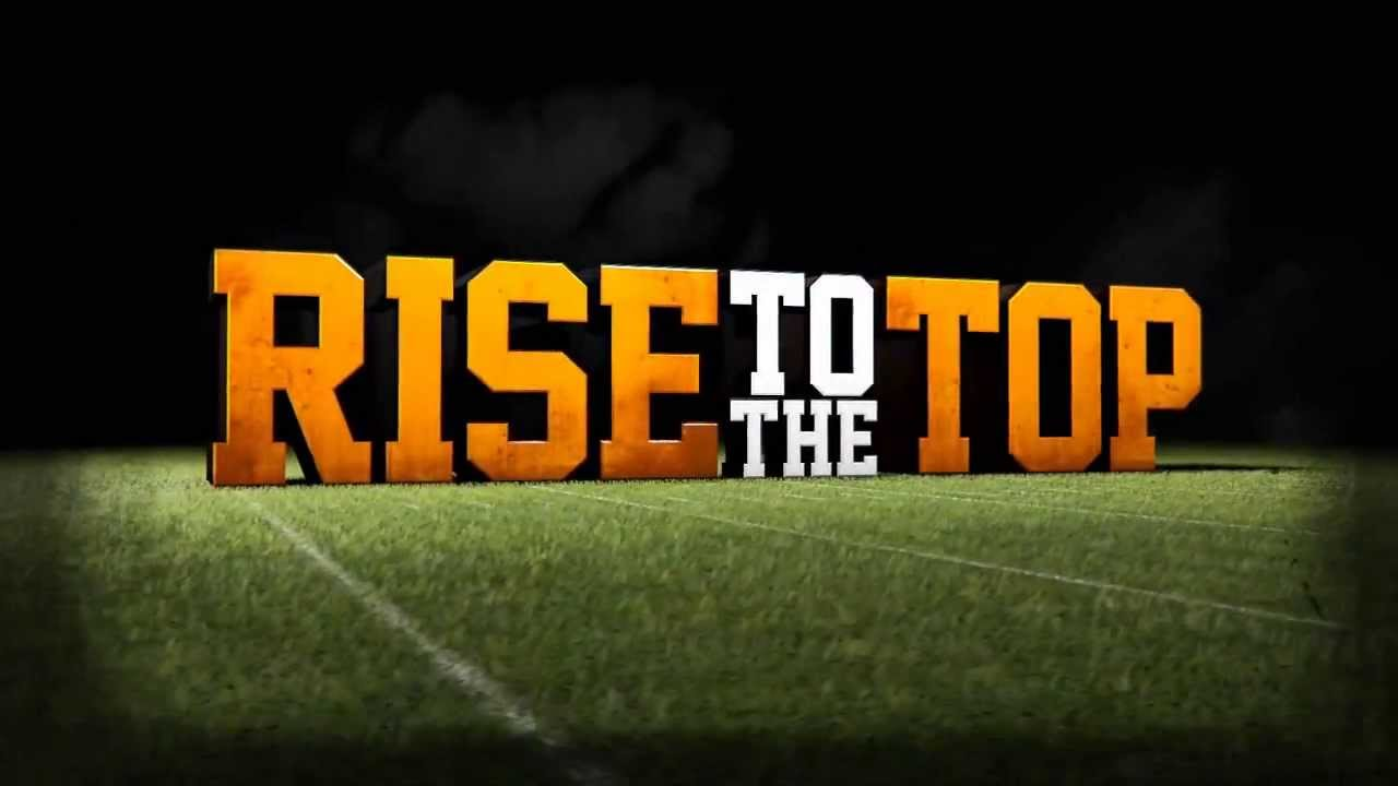Tennessee Football Intro 2013 ᴴᴰ Rise To The Top Youtube