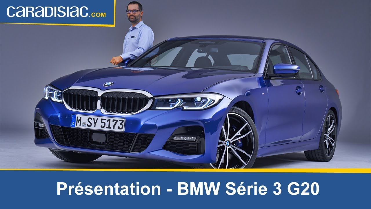 pr sentation de la nouvelle bmw s rie 3 g20 youtube
