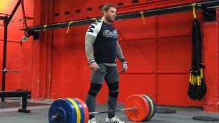 Dmitry Klokov - Hang Snatch 190 kg (418 lb) Spain, Madrid