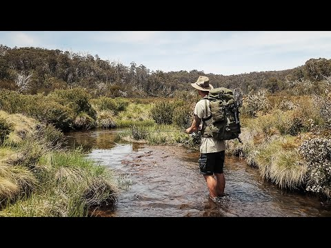 Trout Fishing And Wild Camping In The Snowy Mountains.