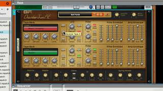 Reason Rack Extensions 101:  Backline Rig V3 - Explored - 55. ChamberTron RE: The Interface