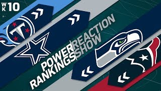 Power Rankings Week 10 Reaction Show: Are Cowboys or Jaguars Better Built for Playoffs? | NFLN