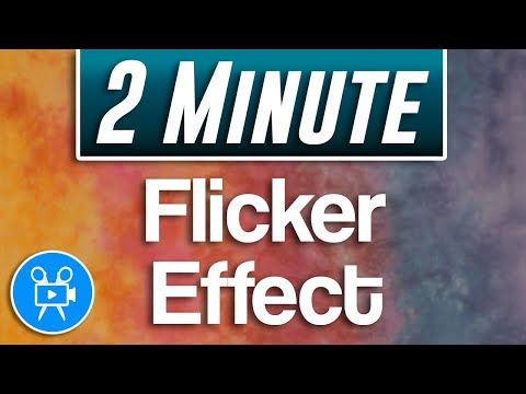 How To Do Flicker Effect Tutorial | Movavi Video Editor Plus