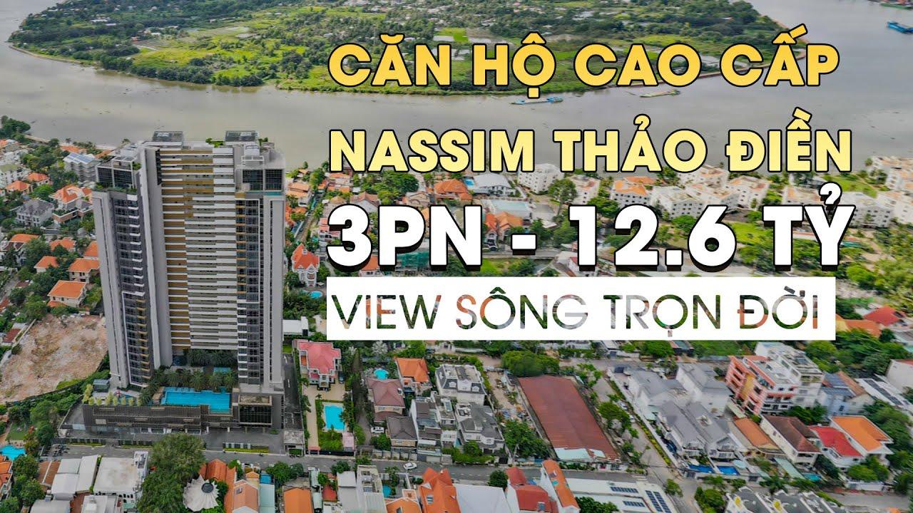 [SOLD] Bán căn hộ cao cấp 3 phòng ngủ Nassim Thảo Điền  Q.2 chỉ 12.6 Tỷ có sổ hồng- Thang máy riêng